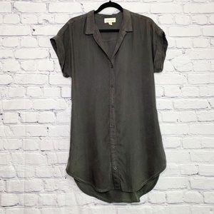 Cloth & Stone   Luna Button Down Tunic   S